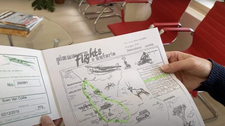 "Review Travel Experience ""Sossusvlei Scenic Flight"" by Pleasure Flights"