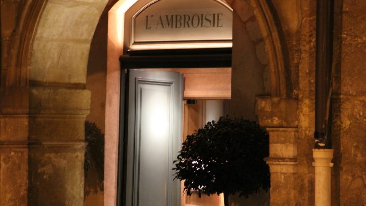 Review Restaurant L'Ambroisie