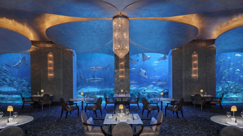Review Restaurant Ossiano Restaurant Dubai