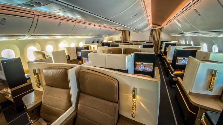Review Travel Experience Etihad's Business Class Studio – One of the world's best business class experiences